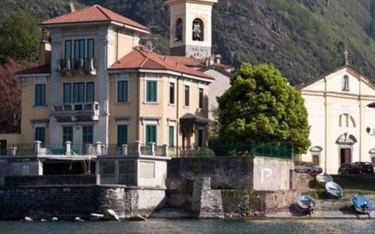 Villa accesso lago